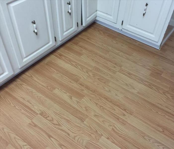 Replaced Kitchen Floor