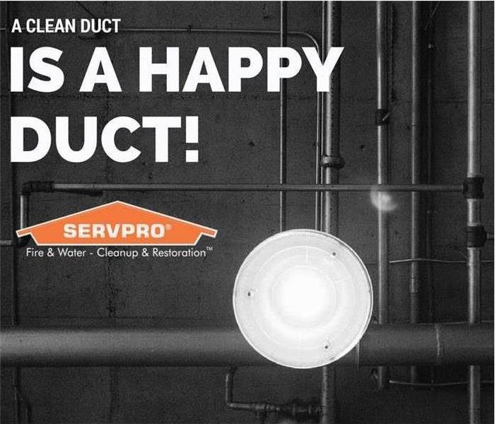 SERVPRO duct cleaning