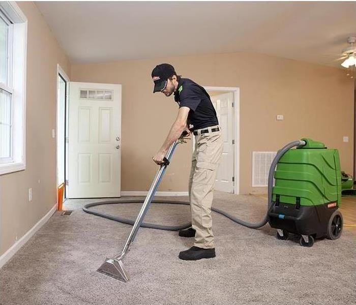 SERVPRO Franchise Professional cleaning carpets