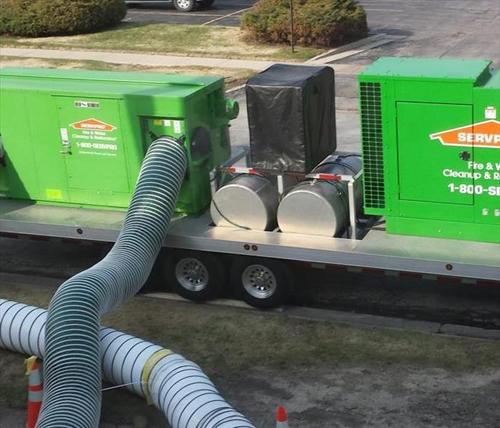Why SERVPRO If your business floods you could lose everything.
